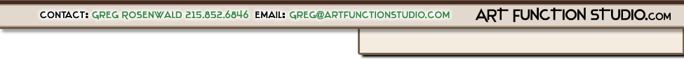 This is the header for Art Function Studio Custom touch sensitive tables in Jenkintown, Rydal, Meadowbrook, 19046, Bryn Athyn, Bethayres, Huntingdon Valley, 19006 & The Mainline